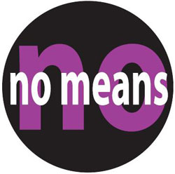 no means no, sexual assault, sexual violence, Matt Lauer