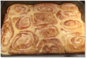 Orange Sweet Buns, baking, King Arthur Flour