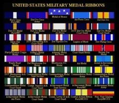 service medals, fruit salad, veteran, veterans