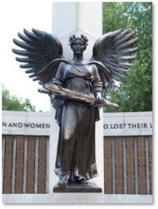 War Veterans Memorial, Angel, John F. Paramino