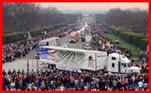 Wreaths Across America, Arlington National Cemetery, Patriots Honor Ride