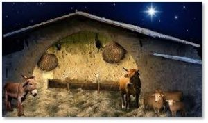 empty Christmas manger, the work of Christmas, Howard Thurman, Dan Forrest