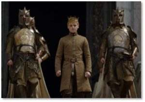 Kingsguard, Joffrey Baratheon, House Lannister, human resources, sexual aggression