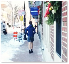 Polar Vortex, winter, shorts in winter, wind-chill factor