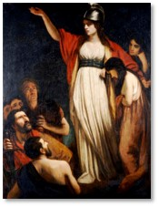 Queen Boudicca, John Opie, women in power
