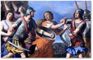 Rape of the Sabine Women, Barbieri, sexual aggression, sexual violence