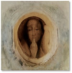 Silence, Odilon Redon, euphemism, sexual harassment