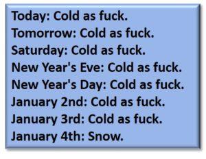 Only in Boston, weather forecast, Polar Vortex