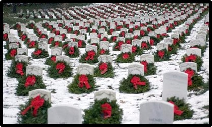Christmas Wreaths, Arlington National Cemetery, Wreaths Across America, Susanne Sklinner