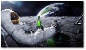 Astronaut, Moon, science fiction movies