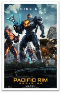Pacific Rim Uprising, one sheet, science fiction movie
