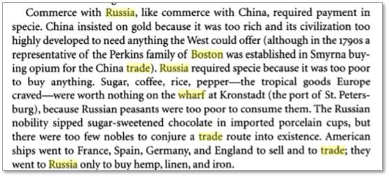Russia Trade, Russia Wharf, shipbuilding, Smolny Pits
