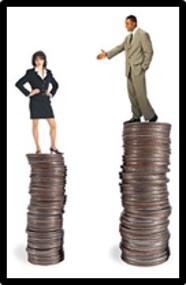 salary inequality, salary gap. wage discrimination, salary compression