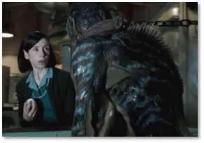 "The Shape of ""Water, Sally Hawkins, the Creature from the Black Lagoon"
