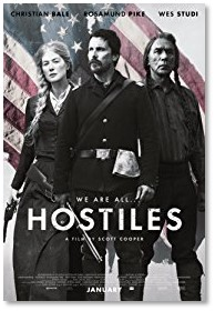 Hostiles movie, Christian Bale, Rosamund Pike, Scott Cooper, Wes Studi,