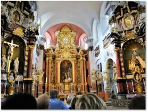 St. Martin Church, Bamberg, baroque churches, Grand European Tour