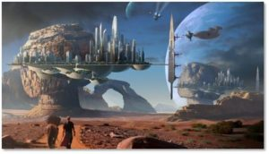 alien world, science fiction, movies