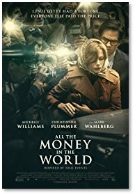 All the Money in the World, Michelle Williams, Kevin Spacey, Christopher Plummer, Mark Wahlberg, gender gap