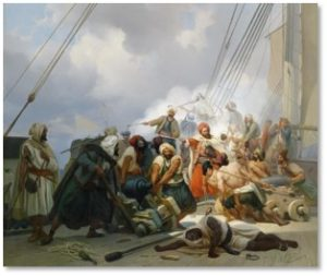 Barbary Pirates, Marine Hymn, Battle of Derna