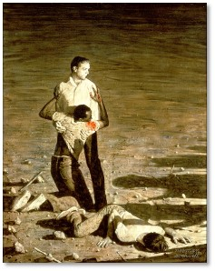 Norman Rockwell, Murder in Mississippi, Chaney, Schwerner, Goodman, Civil Rights Movement