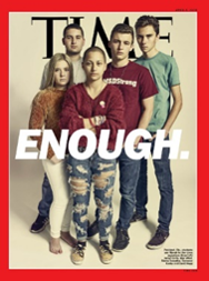 Time magazine, Enough, March for Our LIves, Marjorie Stoneman Douglas, Parkland shooting