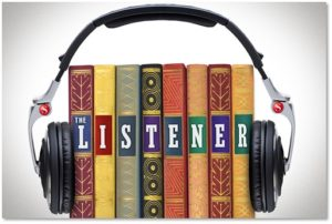 audio books, listening to books