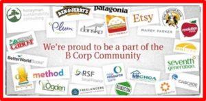 B Corp Community, business logos, Benefit Corporation