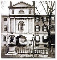 Franklin Place, Charles Bulfinch, Franklin Street, Arch Street