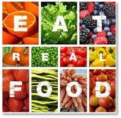 Eat real food, healthy microbiome, natural food