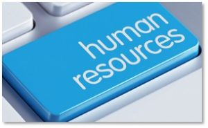 human resources computer key