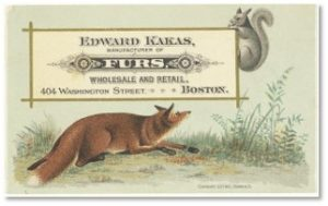 Edward F. Kakas Fur Company, Newbury Street, Louis Prang