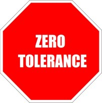 zero tolerance, sexual harassment