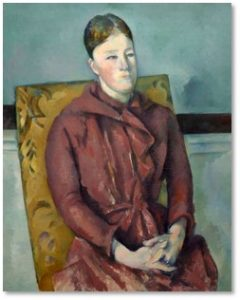 Paul Cezanne, Marie-Hortense Fiquet, portrait, National Gallery, Cezanne Portraits