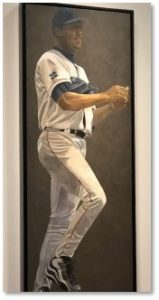 Pedro Martinez, portraits, Susan Miller-Havens, National Porttrait Gallery, Boston Red Sox