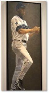 Pedro Martinez, portraits, Susan Miller-Havens, National Porttrait Gallery, Boston Red Sox