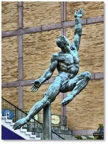 Quest Eternal, Donald De Lue, Prudential Center, Boylston Street, Boston