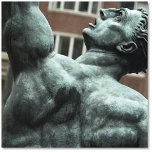 Quest Eternal, Donald De Lue, Purdential Center, Boylston Street, Boston, sculpture