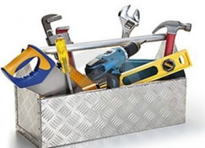 tool box, tools in your tool box