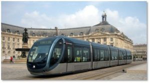 Bordeaux, tramway, public transportation