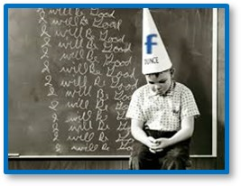 Dunce cap, I will be good, schoolboy