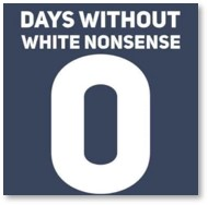days without white nonsense