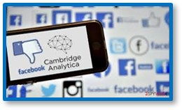Facebook, Cambridge Analytica, thumbs down