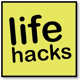 life hacks, getting organized
