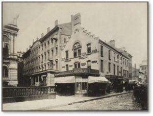 Niles Building, School Street, Boston, JPT Perciva'sl Pharmacy