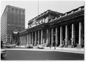 McKim Mead and White, Pennsylvania Station, Penn Station, E