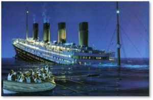Titanic, lifeboats, leaving the Republican Party