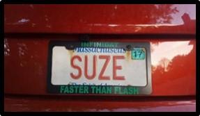 Vanity Plate, Suze