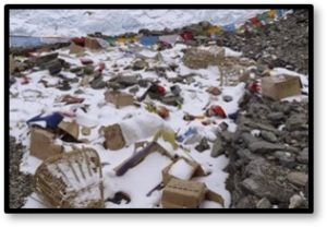 Mount Everest, trash, human waste, Sagarmatha Pollution Control Committee, SPCC,