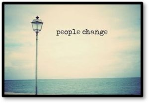 people change, friendships end