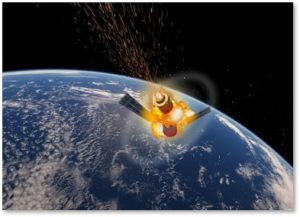 Tiangong-1 Space Station, uncontrolled re-entry, China